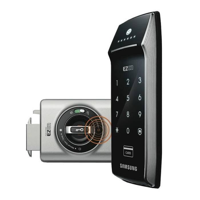 Накладной электронный замок для раздвижных дверей Samsung Ezon SHS-2320