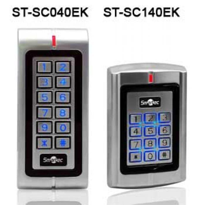Автономные вандалозащищенные контроллеры ST-SC040EK, ST-SC140EK со встроенным считывателем и клавиатурой