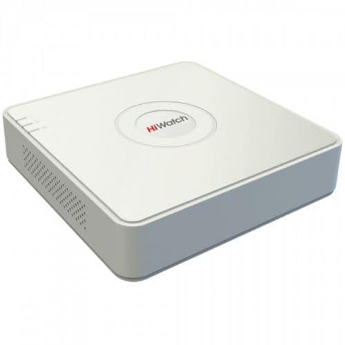 4-х канальный гибридный видеорегистратор HiWatch DS-H104G
