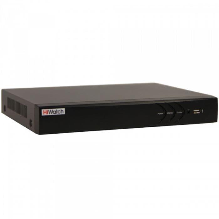 8-х канальный гибридный HD-TVI видеорегистратор HiWatch DS-H104U