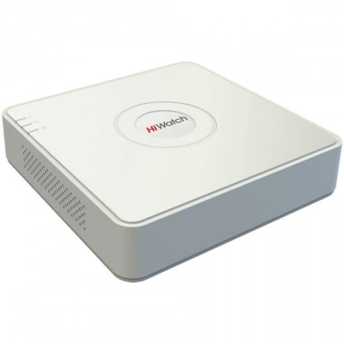 4-х канальный цифровой IP видеорегистратор HiWatch DS-N104
