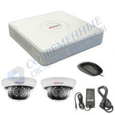Комплект видеонаблюдения дом 2