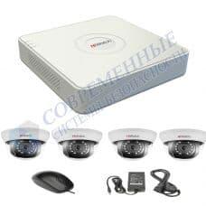 Комплект видеонаблюдения дом 4
