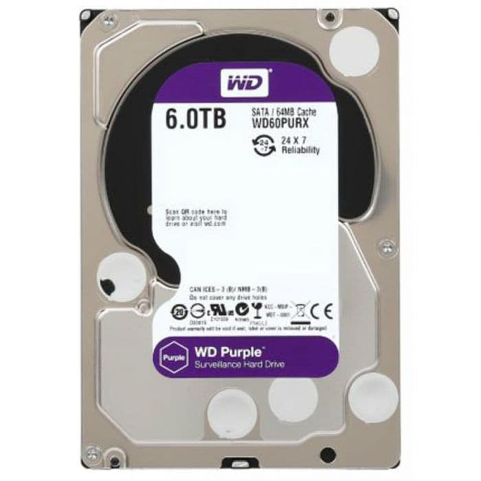 Жесткий диск для видеонаблюдения Western Digital WD10PURX