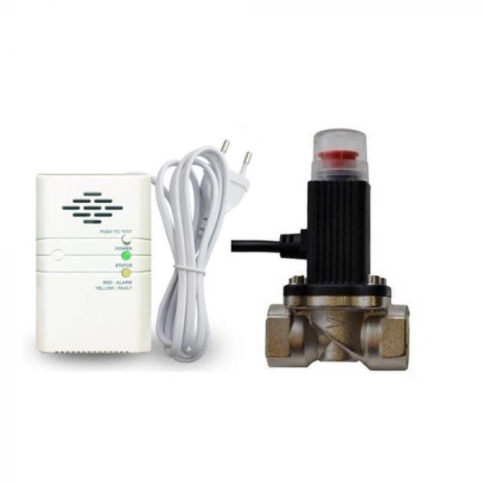 "Система контроля утечки газа с клапаном Sapsan GL-100 ""Газ-Контроль + Клапан"""