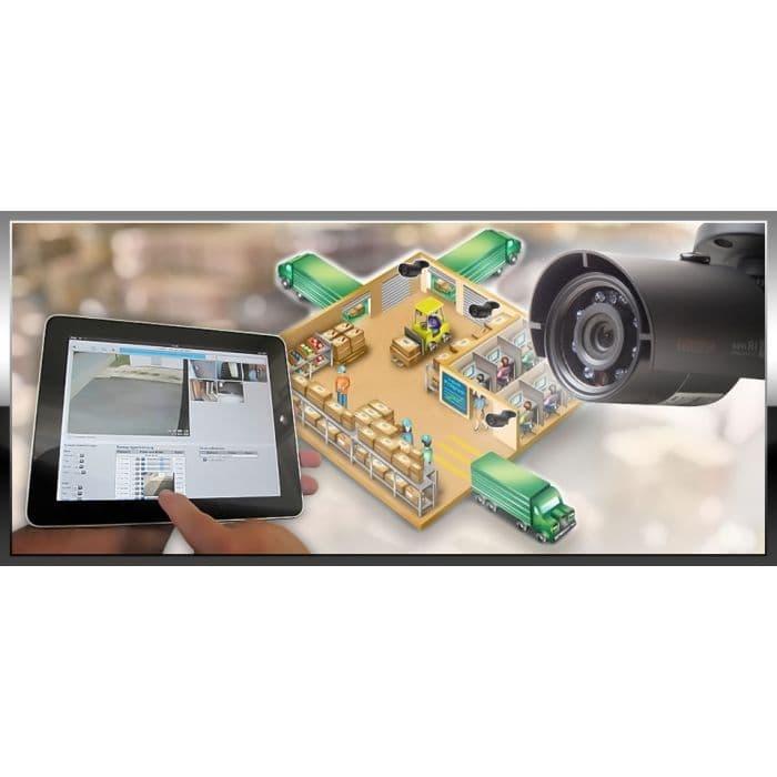 Комплект видеонаблюдения для склада