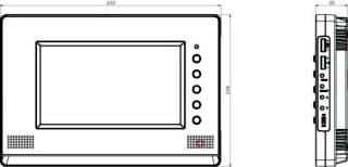 COMMAX CDV-70A обзор