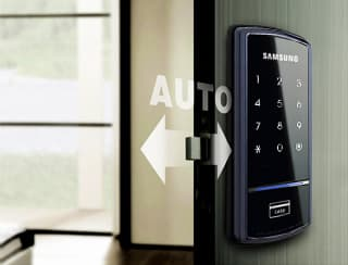 Double the Security with Automatic Locking and Double-lock Features: The automatic lock eliminates the need for users to manually lock when going out. If needed, users can utilize the double-locking feature designed to keep doors locked even with the password and key tag confirmation. Particularly, this feature helps give parent