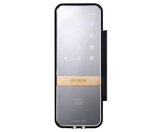 Накладной электронный замок для стеклянных дверей Irevo Gateman Shine, фото