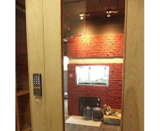 Накладной замок с возможностью установки на узкопрофильные и пластиковые двери Irevo Gateman Shine-S, фото , изображение 2