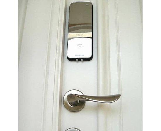 Накладной замок с возможностью установки на узкопрофильные и пластиковые двери Irevo Gateman Shine-S, фото , изображение 3