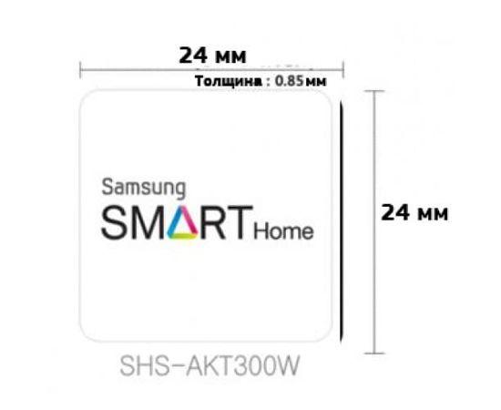 РФ карта стикер для дверных замков Samsung, фото , изображение 9