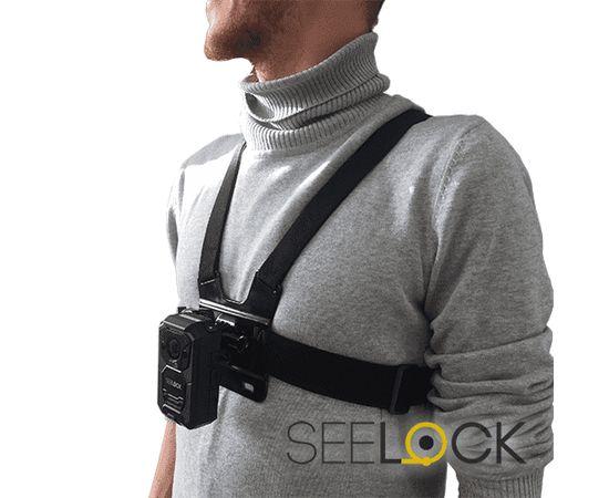 Нагрудное крепление для носимых видеорегистраторов и экшн-камер, фото