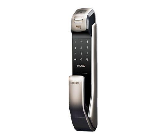 Врезной электронный дверной замок Samsung SHP-DP728 Dark Silver с отпечатком пальца, фото , изображение 2