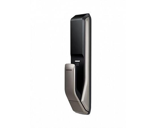 Врезной электронный дверной замок Samsung SHP-DP728 Dark Silver с отпечатком пальца, фото , изображение 4